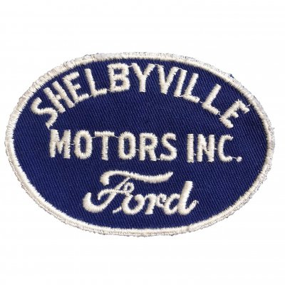 1950s Ford SHELVYVILLE MOTORS INC. ワッペン