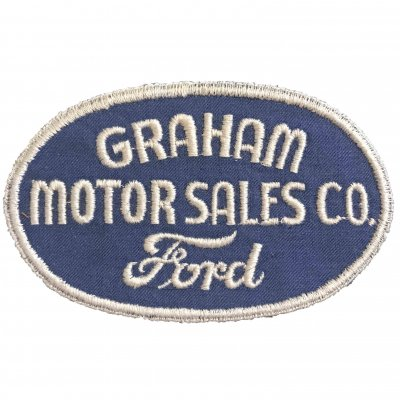 1950s Ford GRAHAM MOTOR SALES CO. ワッペン