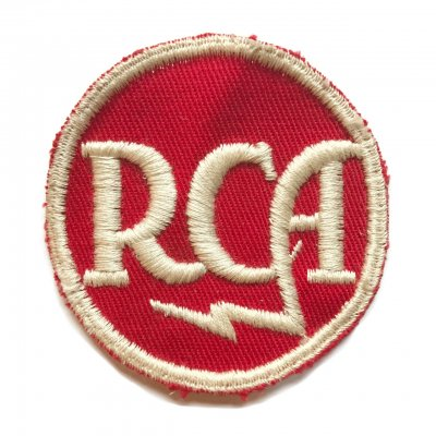 1950-60s RCA ワッペン Red