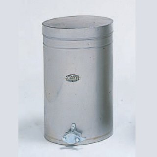 ステンレス製 はちみつタンク 32L (約2斗入) - 養蜂器具の通販サイト秋田屋本店