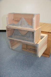 長野式スズメ蜂捕獲器(3段) - 養蜂器具の通販サイト秋田屋本店