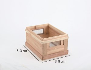 8枚箱用継箱(窓付) - 養蜂器具の通販サイト秋田屋本店