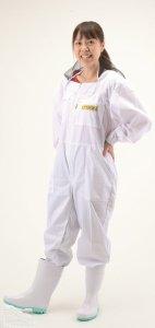 LYSON KIDS 面布付き養蜂着 ツナギ M6010 - 養蜂器具の通販サイト秋田屋本店