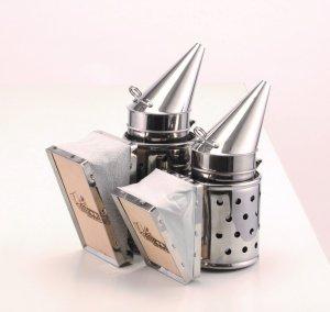 LYSON ステンレス燻煙器 大・小セット - 養蜂器具の通販サイト秋田屋本店