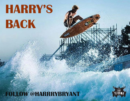 HARRY BRYANT IS BACK「EMERY SURFBOARDS」TINNEY TERROR II MODEL
