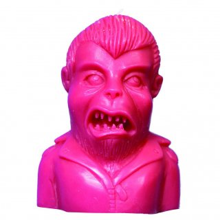【VAMPIRATE】キャンドル Warewolf in a leather jacket candle - Punk Pink