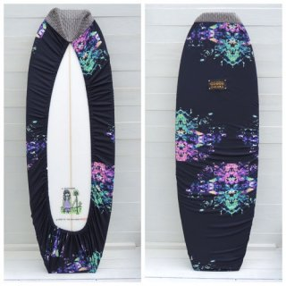 【Chiara】Board wax cover case - Chill out chop - 1632-M