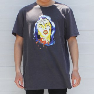 <img class='new_mark_img1' src='//img.shop-pro.jp/img/new/icons6.gif' style='border:none;display:inline;margin:0px;padding:0px;width:auto;' />【Vampirate】Tシャツ Penelope Tee-Washed Black