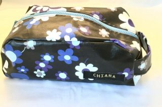 【Chiara】Black Flower porch