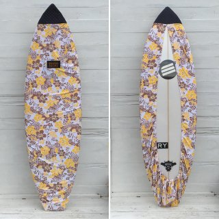 <img class='new_mark_img1' src='//img.shop-pro.jp/img/new/icons6.gif' style='border:none;display:inline;margin:0px;padding:0px;width:auto;' />SALE ★【Chiara】Board wax cover case - ALOHA YELLOW キルト