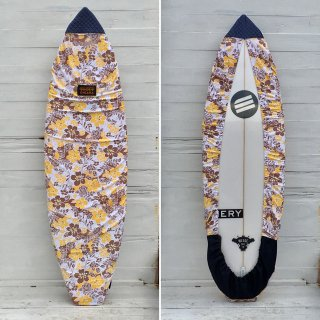 <img class='new_mark_img1' src='//img.shop-pro.jp/img/new/icons6.gif' style='border:none;display:inline;margin:0px;padding:0px;width:auto;' />【Chiara】Board wax cover case - ALOHA YELLOW/DENIM FIN COVER