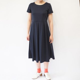 【L】アーミッシュ風シンプルワンピース◇半袖(ネイビー)*定番生地*<img class='new_mark_img2' src='//img.shop-pro.jp/img/new/icons5.gif' style='border:none;display:inline;margin:0px;padding:0px;width:auto;' />