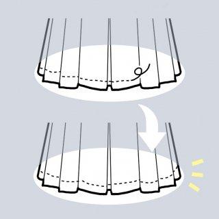 【糸切れなどの修繕】アーミッシュ風シンプルワンピース◇リメイク