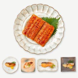 レンジで簡単!<br>はも照焼と焼魚料理詰合せ