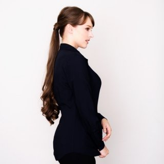 【FAINALSALE30%OFF】Navy blouse _1st