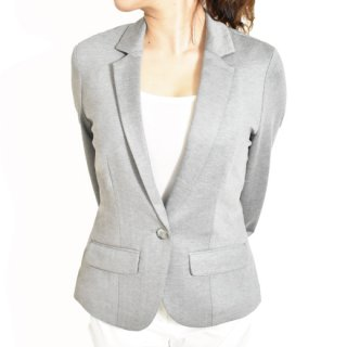 Gray tailored jacket