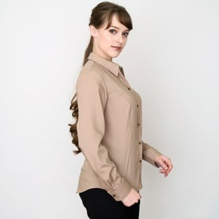 <img class='new_mark_img1' src='https://img.shop-pro.jp/img/new/icons59.gif' style='border:none;display:inline;margin:0px;padding:0px;width:auto;' />Light brown blouse_2nd