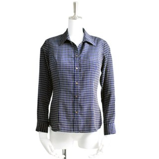 Navy Check Blouse_2nd