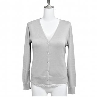 (旧)Cardigan V neck -Gray-