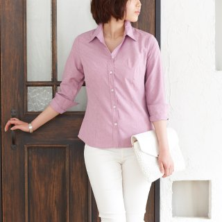 <img class='new_mark_img1' src='https://img.shop-pro.jp/img/new/icons24.gif' style='border:none;display:inline;margin:0px;padding:0px;width:auto;' />【10%OFF】Shirt Blouse-Lilac-