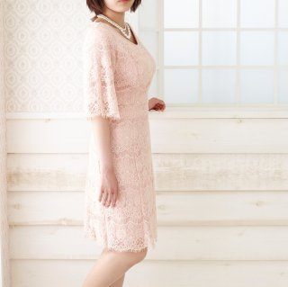 <img class='new_mark_img1' src='https://img.shop-pro.jp/img/new/icons11.gif' style='border:none;display:inline;margin:0px;padding:0px;width:auto;' />series E Emily's Lace -Salmon pink -