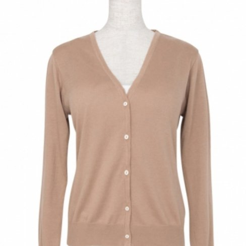 <img class='new_mark_img1' src='https://img.shop-pro.jp/img/new/icons20.gif' style='border:none;display:inline;margin:0px;padding:0px;width:auto;' />【50%OFF】Cardigan V neck -Camel-(18/01型)