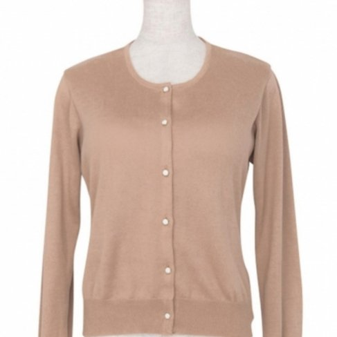 <img class='new_mark_img1' src='https://img.shop-pro.jp/img/new/icons11.gif' style='border:none;display:inline;margin:0px;padding:0px;width:auto;' />Cardigan Round neck -Camel-