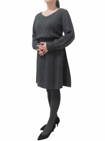 【7000円OFF】seriesE Emma's knit-Gray-