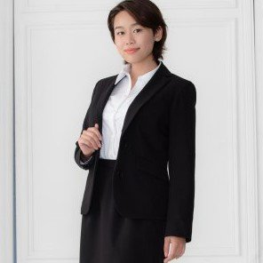Suit Jacket -Black-