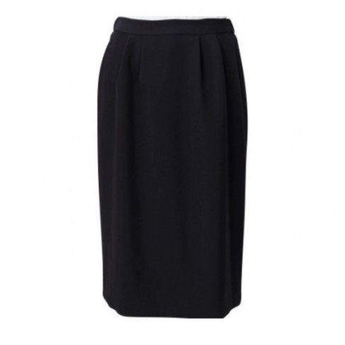 Suit Skirt -Black-