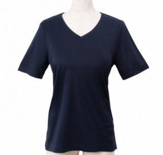<img class='new_mark_img1' src='https://img.shop-pro.jp/img/new/icons11.gif' style='border:none;display:inline;margin:0px;padding:0px;width:auto;' />T-shirt V neck -Navy-