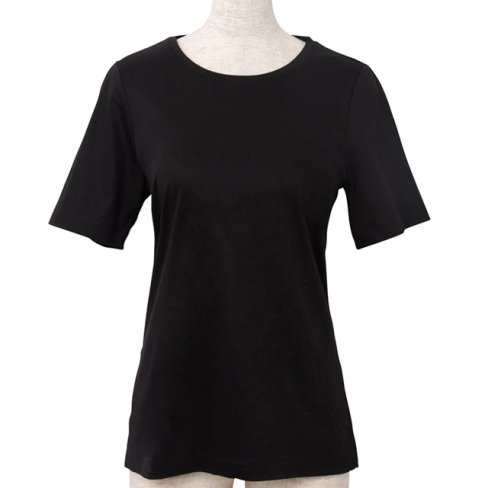<img class='new_mark_img1' src='https://img.shop-pro.jp/img/new/icons11.gif' style='border:none;display:inline;margin:0px;padding:0px;width:auto;' />T-shirt Round neck -Black-
