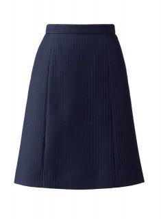 【ボンオフィス・A195シリーズ】AS2317 Aラインスカート【リーズナブル・オールシーズン・部分ゴム・ホームクリーニング】