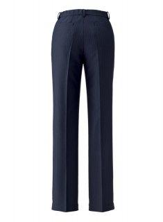【ボンオフィス・A195シリーズ】AP6245 裾上げらくらくパンツ【リーズナブル・オールシーズン・部分ゴム・ホームクリーニング】