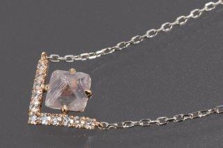 Bazin ダイヤモンド原石 ネックレス