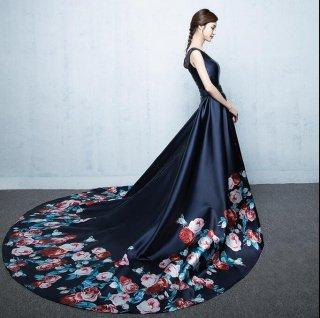 プリンセスライン ラグジュアリー 演奏会ドレス 謝恩会ドレス