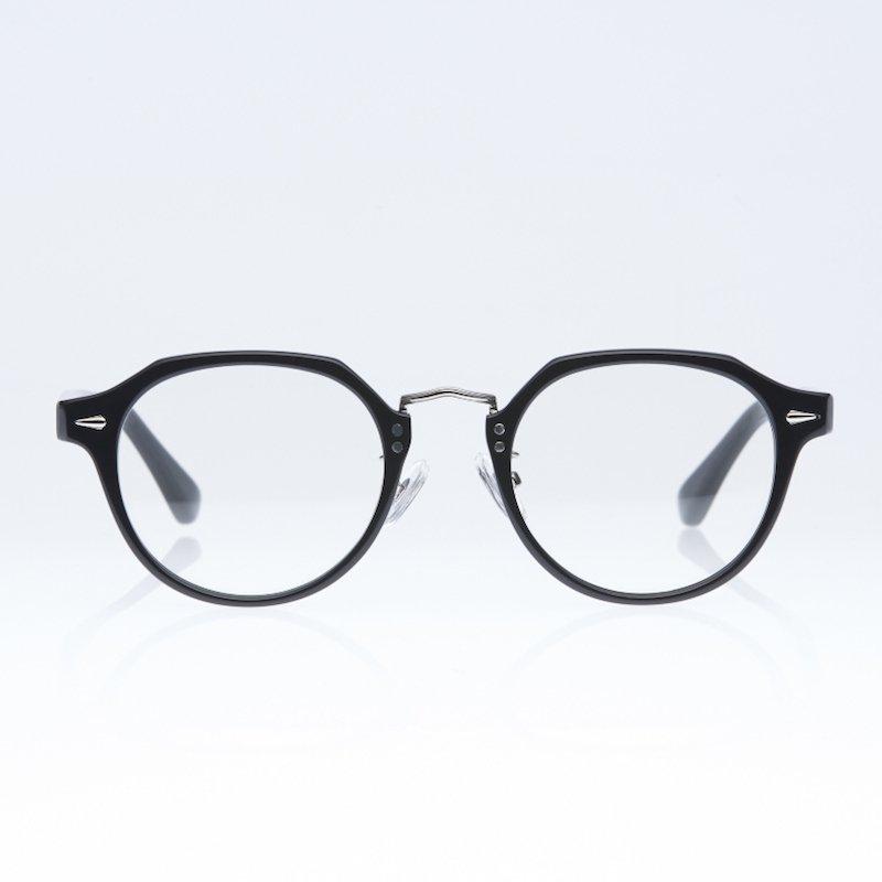 <img class='new_mark_img1' src='https://img.shop-pro.jp/img/new/icons8.gif' style='border:none;display:inline;margin:0px;padding:0px;width:auto;' />[eito maw eyewear] エイト マウ アイウェア 004 (BLACK/ CLEAR)