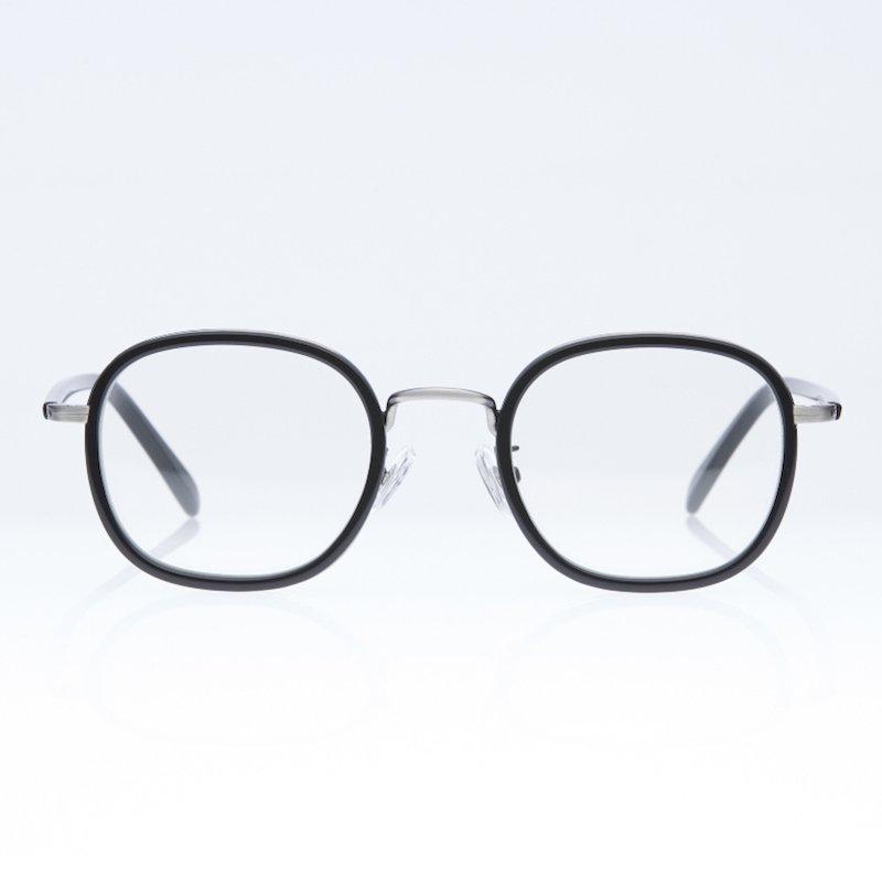 <img class='new_mark_img1' src='https://img.shop-pro.jp/img/new/icons50.gif' style='border:none;display:inline;margin:0px;padding:0px;width:auto;' />[eito maw eyewear] エイト マウ アイウェア 006 (BLACK/ CLEAR)