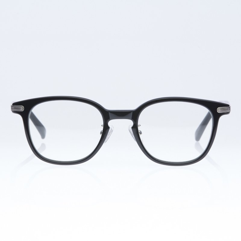 <img class='new_mark_img1' src='//img.shop-pro.jp/img/new/icons8.gif' style='border:none;display:inline;margin:0px;padding:0px;width:auto;' />[eito maw eyewear] エイト マウ アイウェア 008 (BLACK/ CLEAR)