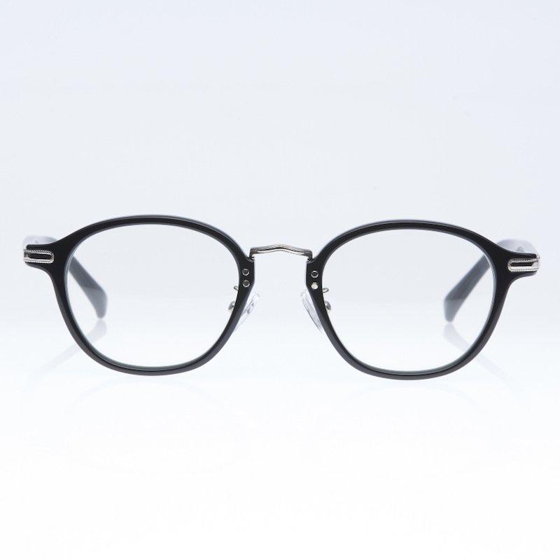 <img class='new_mark_img1' src='https://img.shop-pro.jp/img/new/icons8.gif' style='border:none;display:inline;margin:0px;padding:0px;width:auto;' />[eito maw eyewear] エイト マウ アイウェア 009 (BLACK/ CLEAR)