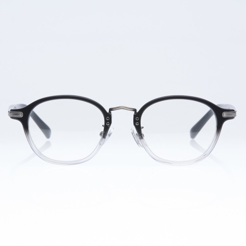 <img class='new_mark_img1' src='https://img.shop-pro.jp/img/new/icons50.gif' style='border:none;display:inline;margin:0px;padding:0px;width:auto;' />[eito maw eyewear] エイト マウ アイウェア 009 (BK×CL/ CLEAR)