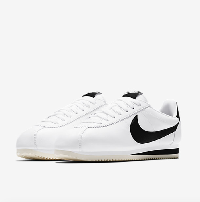 <img class='new_mark_img1' src='//img.shop-pro.jp/img/new/icons8.gif' style='border:none;display:inline;margin:0px;padding:0px;width:auto;' /> [NIKE] CLASSIC CORTEZ LEATHER SE  (WHITE/BLACK) 861535-104