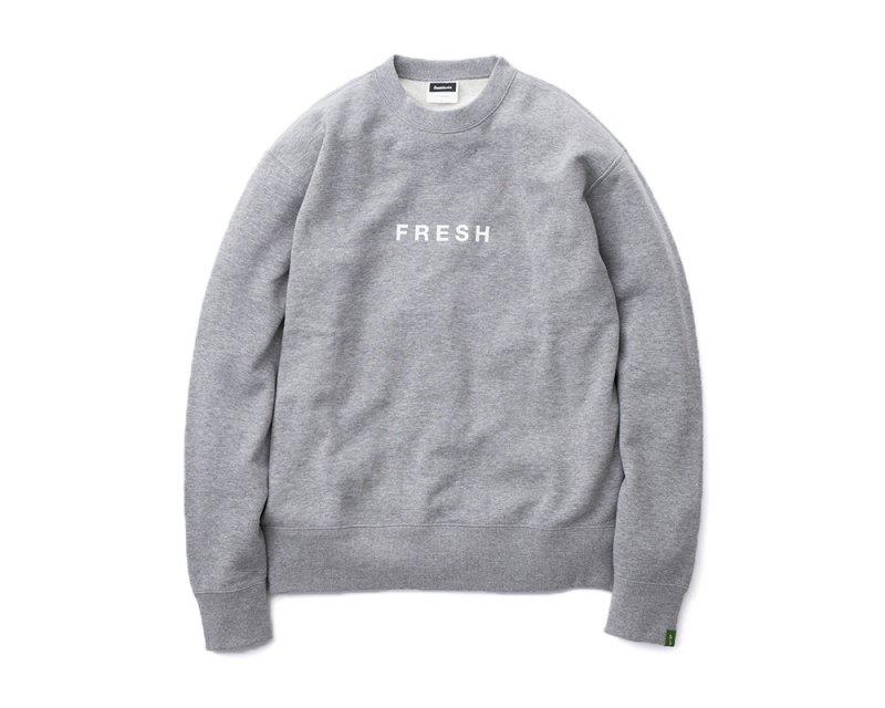 [SALE][FreshService] フレッシュサービス LOOPWHEELERxFreshService Crew Neck Sweat (KHAKI・GRAY)