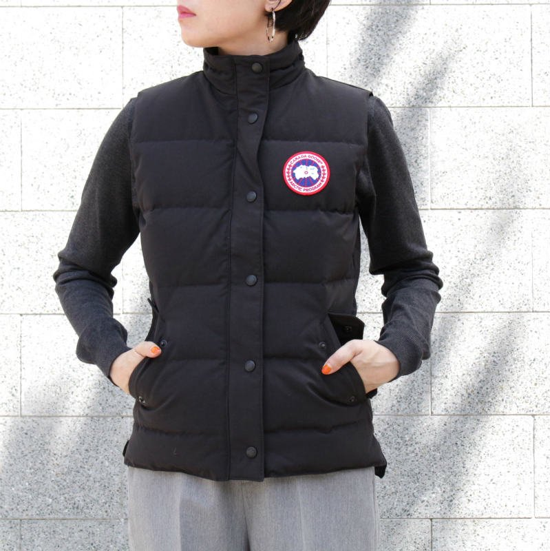 [CANADA GOOSE] カナダグース FREESTYLE VEST 2832L (BLACK)