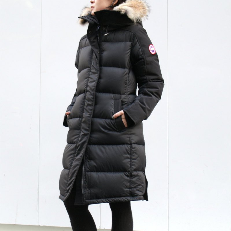 <img class='new_mark_img1' src='//img.shop-pro.jp/img/new/icons50.gif' style='border:none;display:inline;margin:0px;padding:0px;width:auto;' />[CANADA GOOSE] カナダグース ROWLEY PARKA 3208L (BLACK)