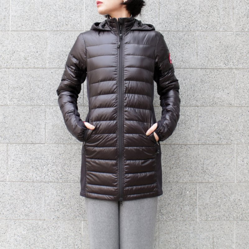 <img class='new_mark_img1' src='//img.shop-pro.jp/img/new/icons50.gif' style='border:none;display:inline;margin:0px;padding:0px;width:auto;' />[CANADA GOOSE] カナダグース HYBRIDGE LITE COAT 2710L (BLACK)