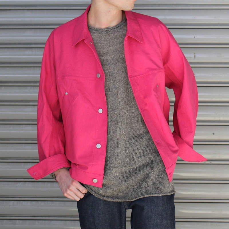 <img class='new_mark_img1' src='//img.shop-pro.jp/img/new/icons8.gif' style='border:none;display:inline;margin:0px;padding:0px;width:auto;' />[URU TOKYO] ウル  TRACKER JACKET (PINK) 18SUJ07