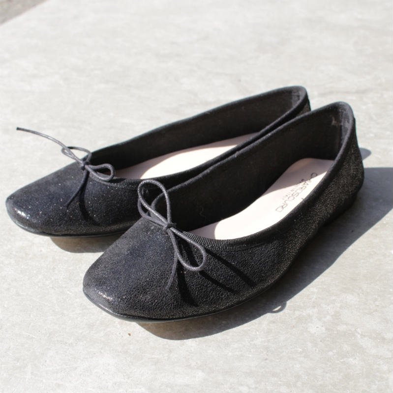 [C'ast Vague] セベージュ Ballet Shoes (BLACK)