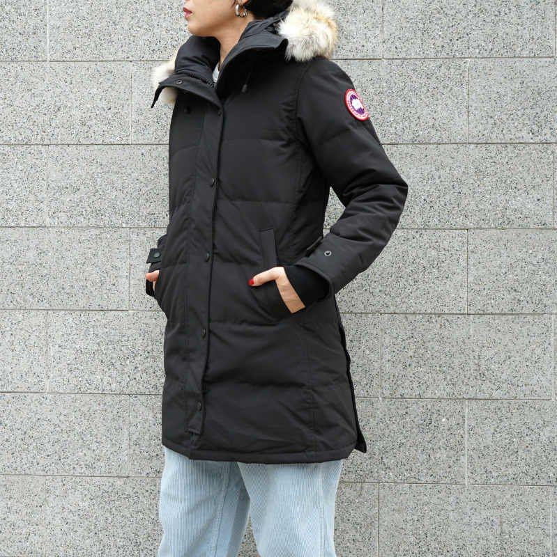 <img class='new_mark_img1' src='//img.shop-pro.jp/img/new/icons50.gif' style='border:none;display:inline;margin:0px;padding:0px;width:auto;' />[CANADA GOOSE] カナダグース SHELBURNE PARKA FF 3802LA (BLACK)