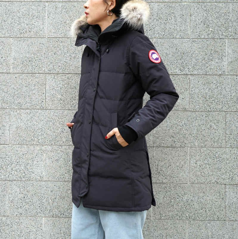 <img class='new_mark_img1' src='//img.shop-pro.jp/img/new/icons50.gif' style='border:none;display:inline;margin:0px;padding:0px;width:auto;' />[CANADA GOOSE] カナダグース SHELBURNE PARKA FF 3802LA (NAVY)